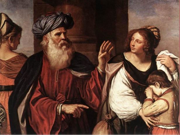Abraham en Hagar