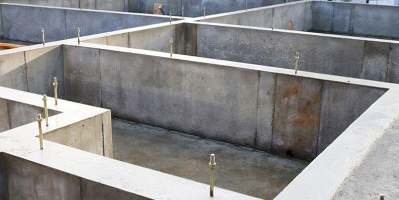 betonnen fundament