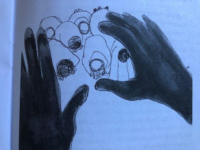 tekening handen