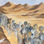 tocht door de woestijn